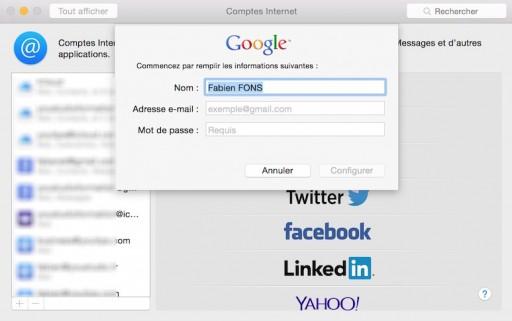 Comment configurer une adresse gmail sur votre mac 3