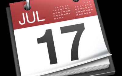 renommez ou créez un calendrier
