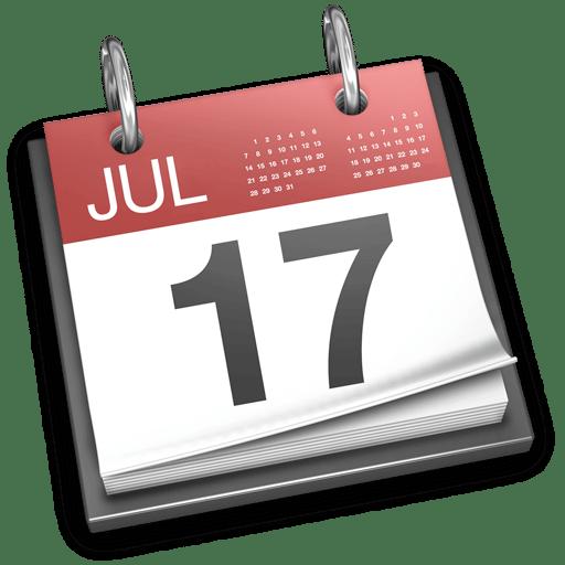 iCal: Comment afficher en un clic la date d'aujourd'hui?