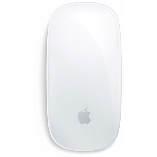 Les gestes de la souris apple Magic Mouse sur Mac:  Glisser entre les pages avec un doigt