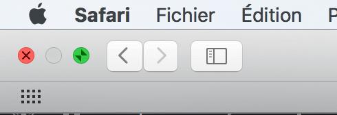 OS X sortir du mode plein écran