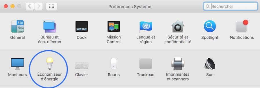 Programmez votre Mac pour qu'il s'allume et qu'il s'éteigne automatiquement1
