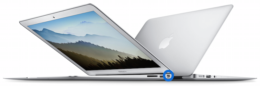 Thunderbolt sur le MacBook Air