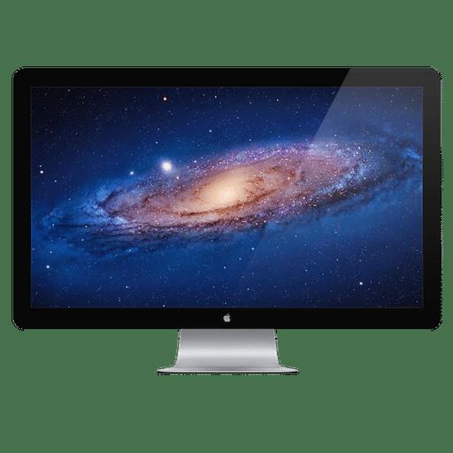 Nouvel écran Apple Thunderbolt Display
