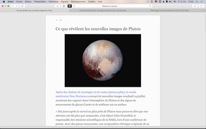 Comment transformer une page internet en pdf2