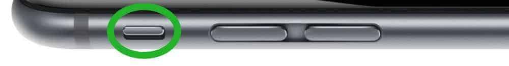 mode vibreur iPhone 6