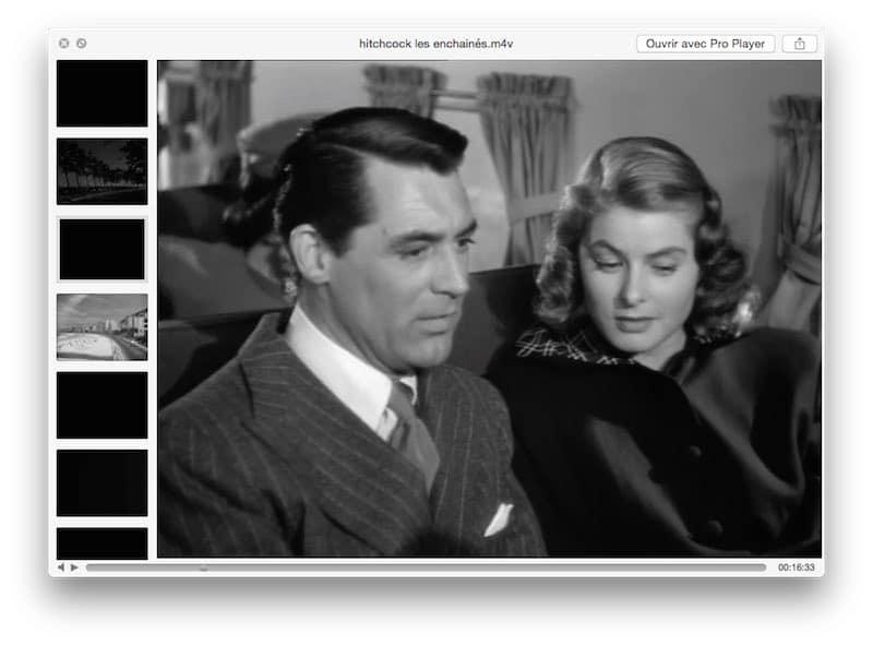 La fonction coup d'oeil sur Mac2