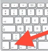 Une liste des raccourcis clavier utiles