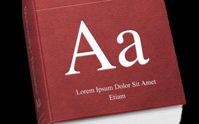 OS X El Capitan, nouveautés sur les Polices et les dictionnaires