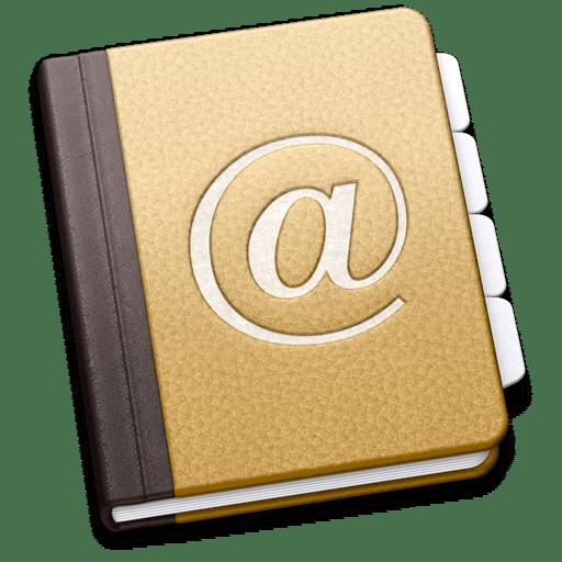 Exporter votre carnet d'adresse
