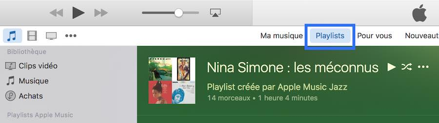 La musique jamais écoutée sur iTunes1