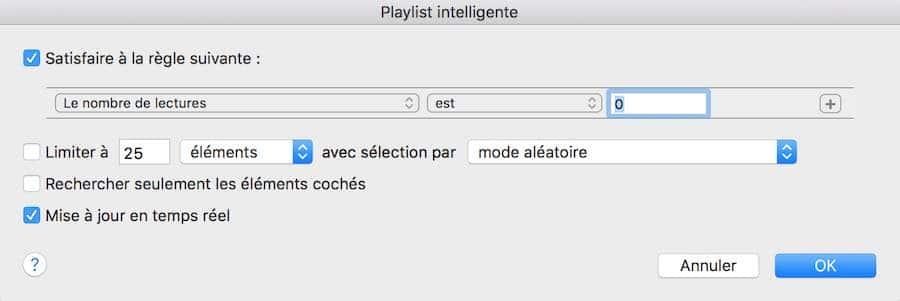 La musique jamais écoutée sur iTunes3