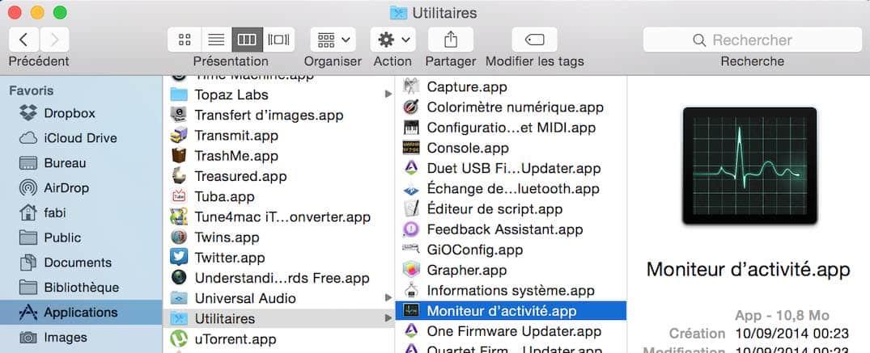 Libérer la RAM de votre Mac 2