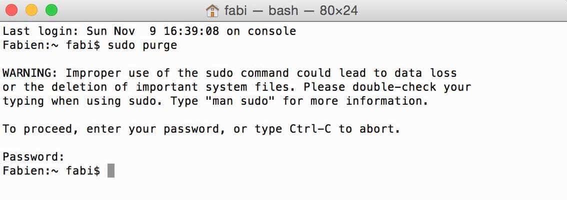 Libérer la RAM de votre Mac 3