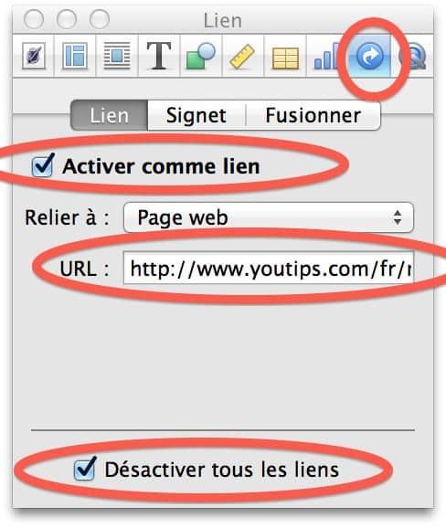 créer un lien vers un site internet2
