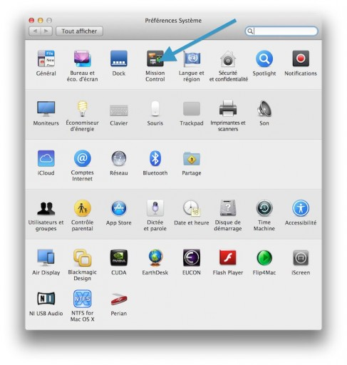 Mission Control définissez des fonctions sur les 4 coins de l'écran de votre Mac 1