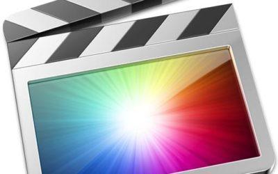 Final Cut Pro X, le logiciel de montage vidéo professionnel d'Apple