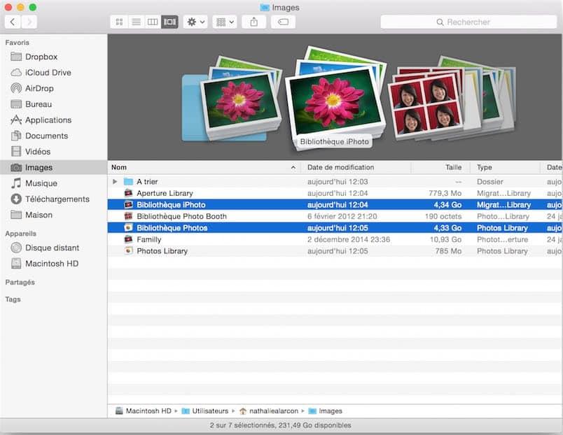 Apple abandonne iPhoto et Aperture 5