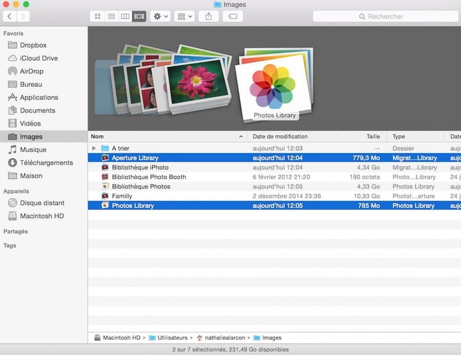Apple abandonne iPhoto et Aperture 6