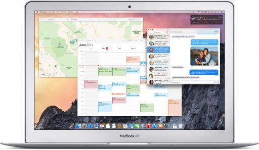nouvelle interface yosemite