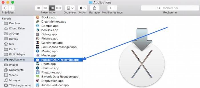 Mettre à jour votre Mac sur OS X Yosemite2