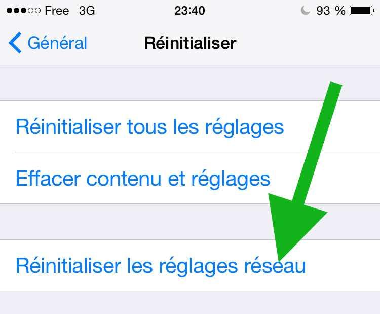 Des problèmes avec iMessage6