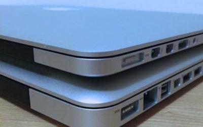 MacBook Pro Rétina: quelles différences avec les anciens MacBook pro?