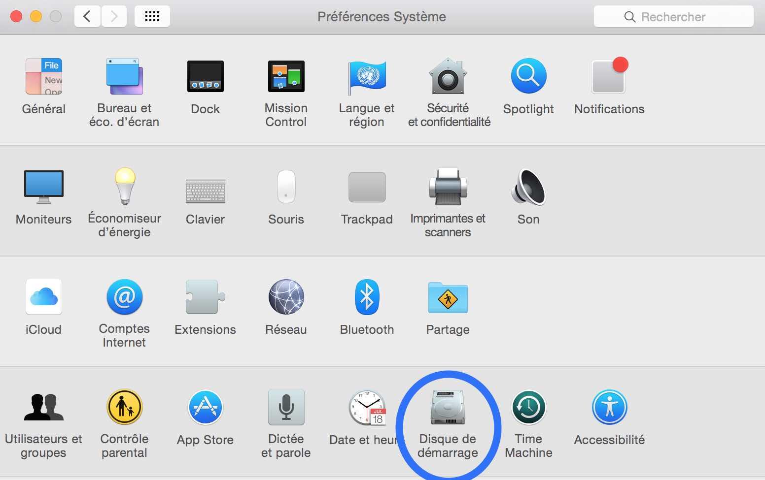 Mac très lent au démarrage après un changement de disque dur 1