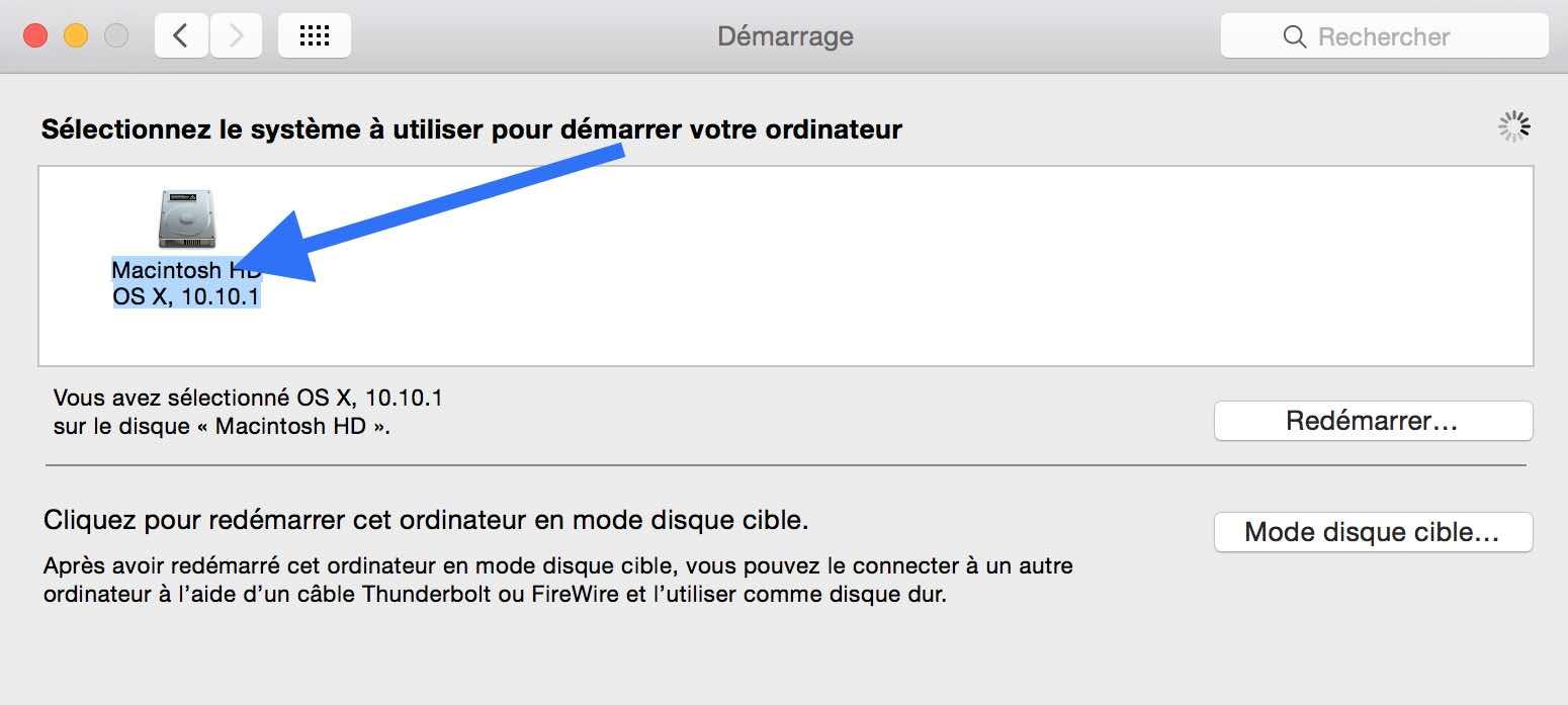 Mac très lent au démarrage après un changement de disque dur 2