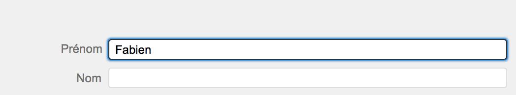 La touche Tabulation sur Mac1
