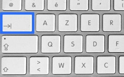 Raccourci Mac pour remplir un formulaire sans la souris