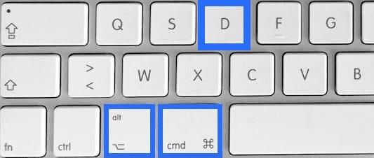 Masquer le dock sur Mac