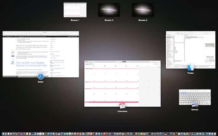 Mission Control mac