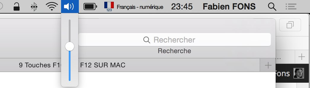 Volume son sur mac