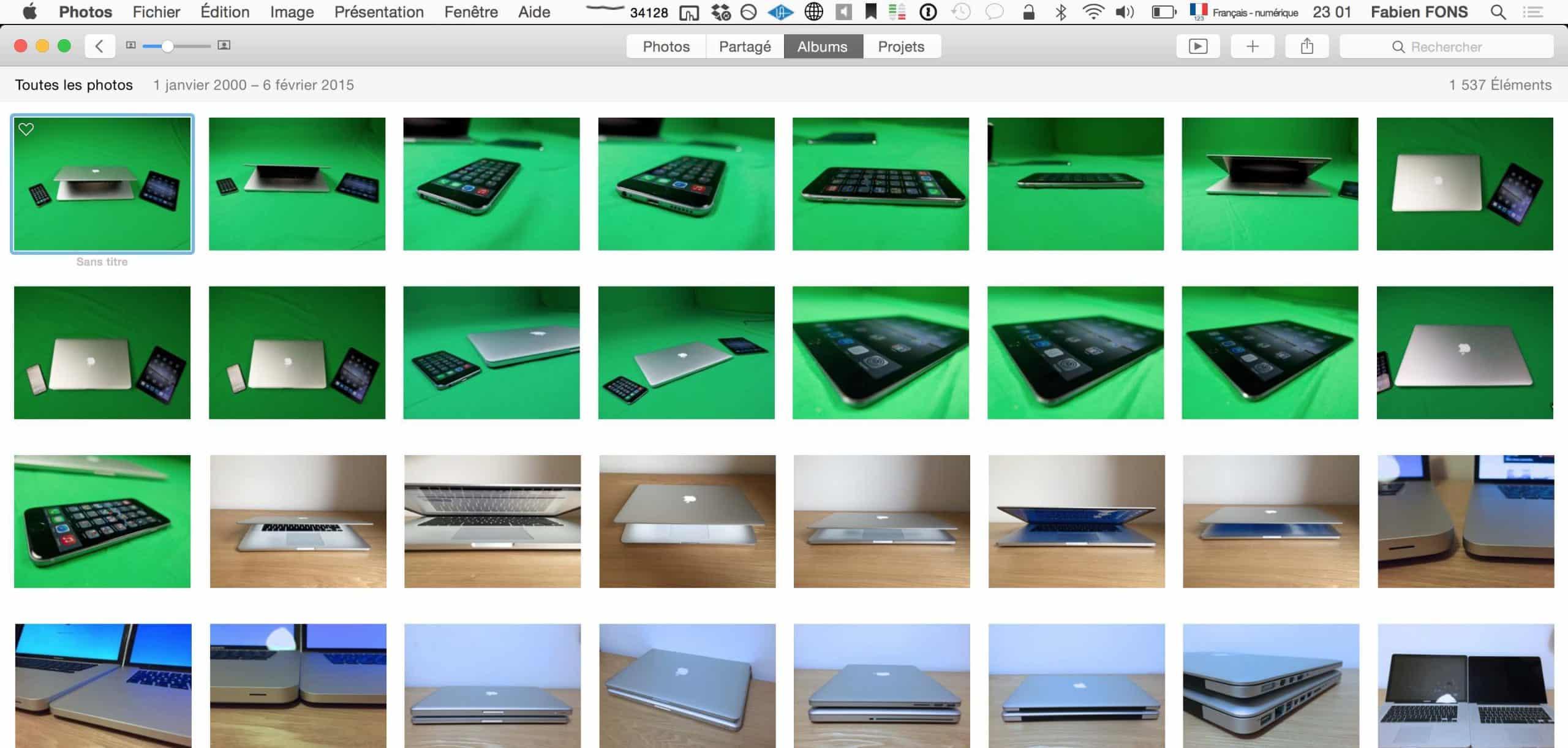 Sélectionner plusieurs fichiers sur Mac3