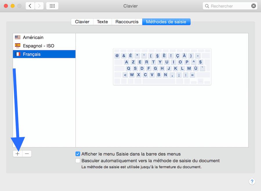 la touche pour verrouiller les majuscule sur Mac2