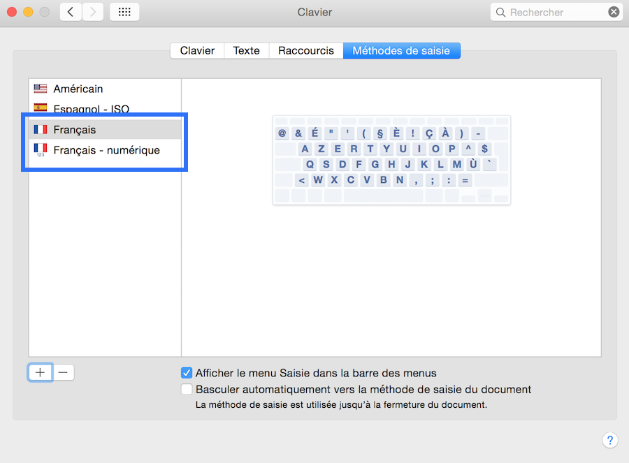 la touche pour verrouiller les majuscule sur Mac4