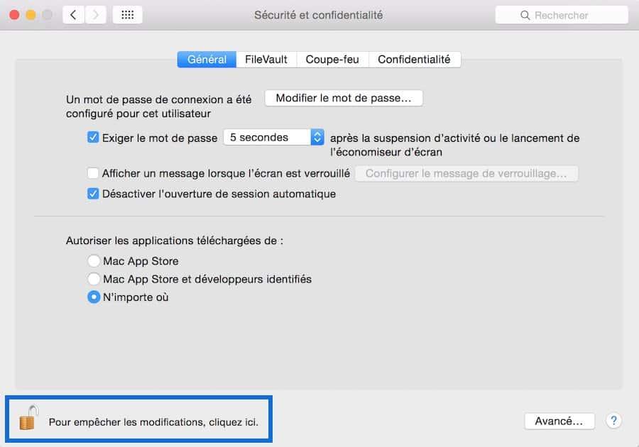 Impossible d'ouvrir « Install.pkg », car cette app n'a pas été téléchargée à partir du Mac App Store5