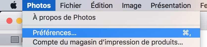1Rendre votre Photothèque Photos accessible depuis d'autres applications