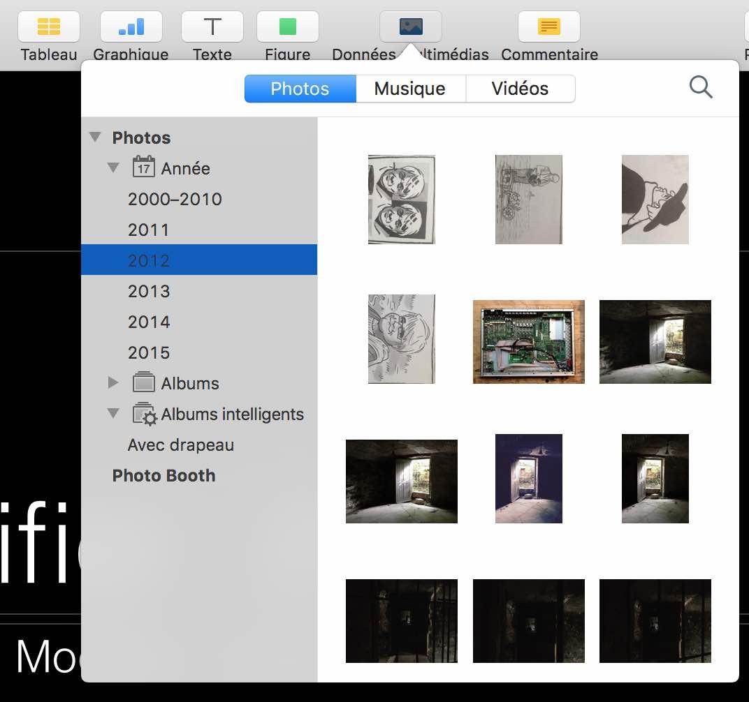 5Rendre votre Photothèque Photos accessible depuis d'autres applications