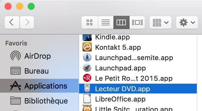 Lire un DVD sur MAC