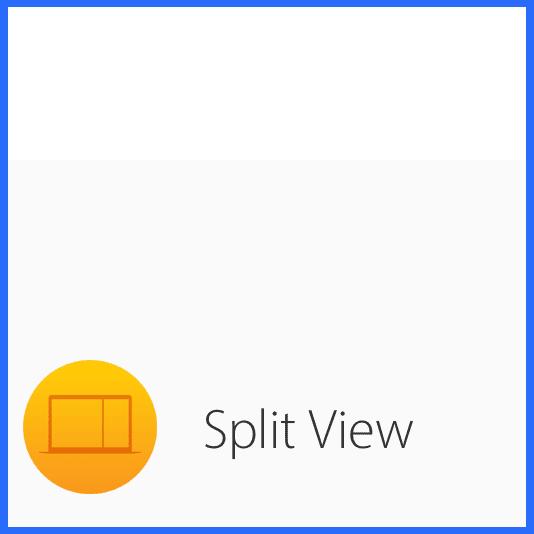 Le mode Split View sur Mac