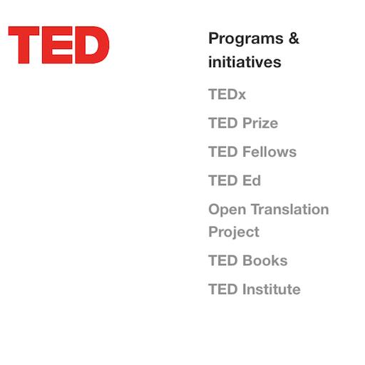 Découverte des vidéos du site TED