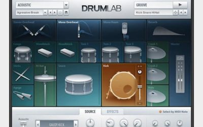 Mixage du Plug in Native DrumLab en multisorties dans Logic pro