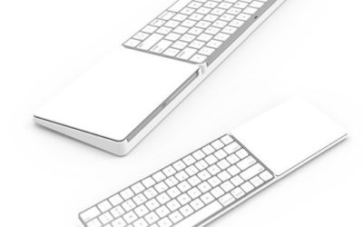 Le Magic Bridge: support très pratique pour rassembler le trackpad Apple et le clavier Bluetooth en un seul tenant