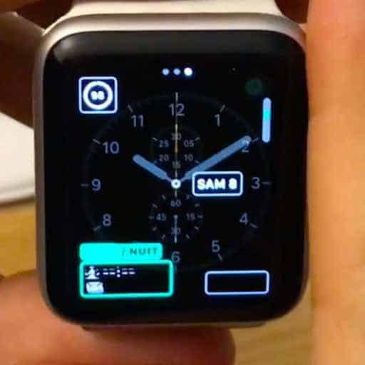 Personnaliser les cadrans de votre Apple Watch