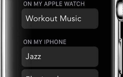 Copier la musique de votre iPhone sur votre Apple Watch