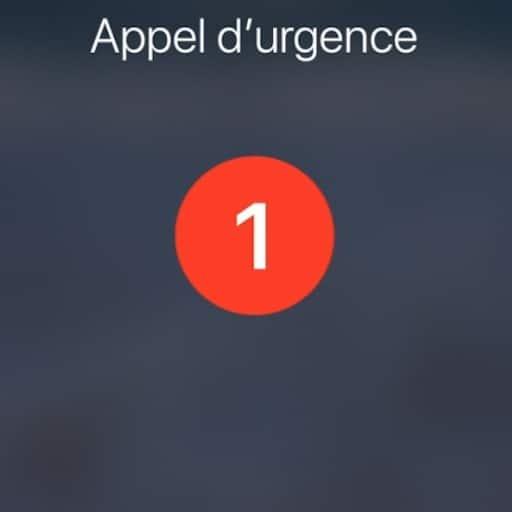 Appeler les urgences à partir de l'iPhone d'un inconnu en cas d'accident