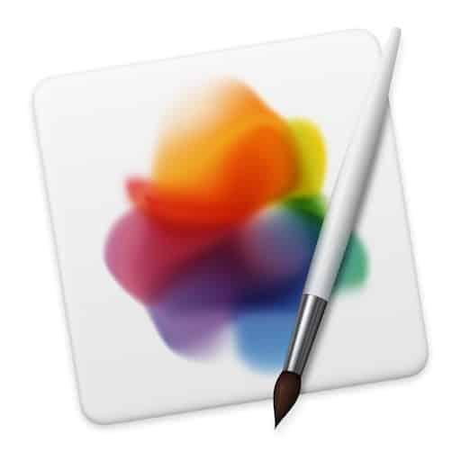 Effacer un objet sur une photo dans Pixelmator Pro