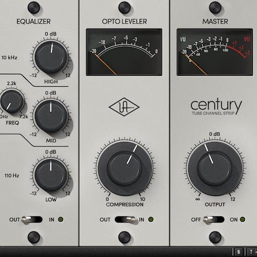 Tuto UAD : le century tube channel strip